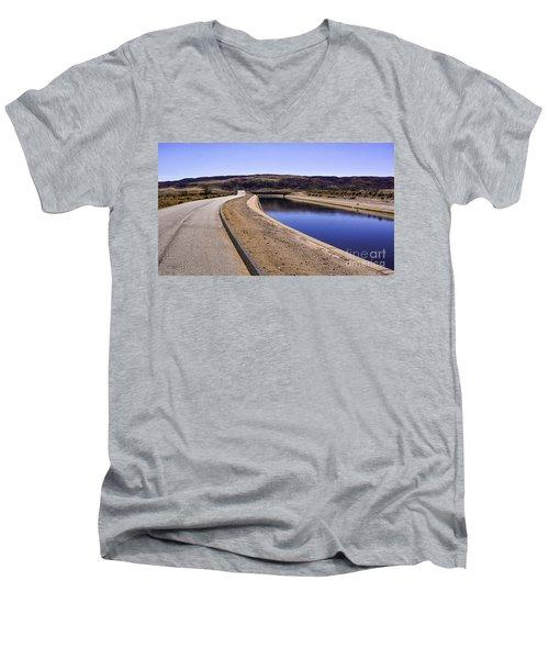 The Service Road Men's V-Neck T-Shirt