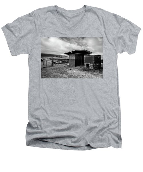 The Shack Men's V-Neck T-Shirt