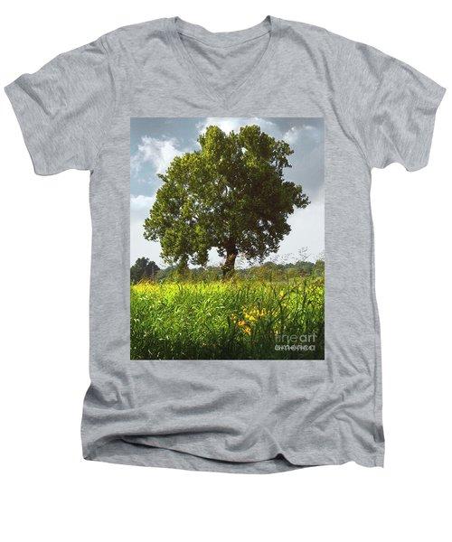 The Shade Tree Men's V-Neck T-Shirt