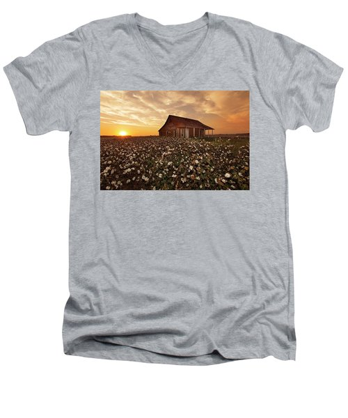 The Sharecropper Shack Men's V-Neck T-Shirt