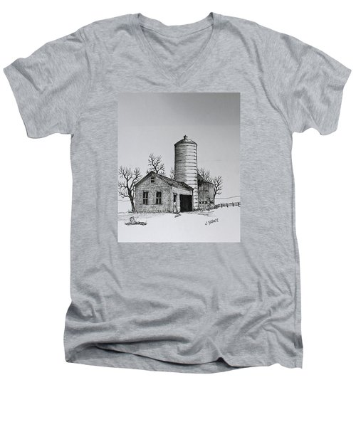 The Shed Men's V-Neck T-Shirt