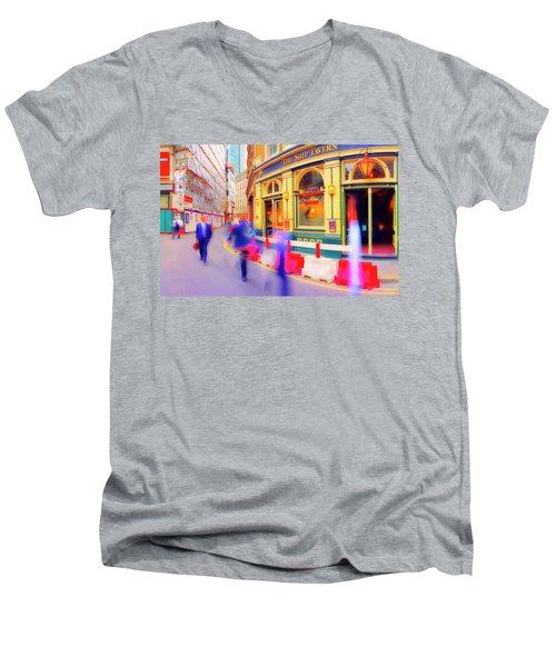 The Ship Men's V-Neck T-Shirt
