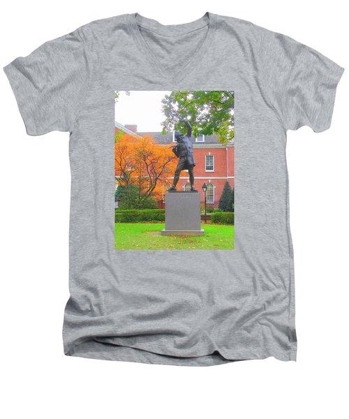 The Signer Men's V-Neck T-Shirt