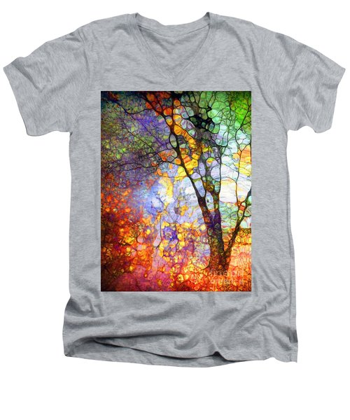 The Simple Tree Men's V-Neck T-Shirt