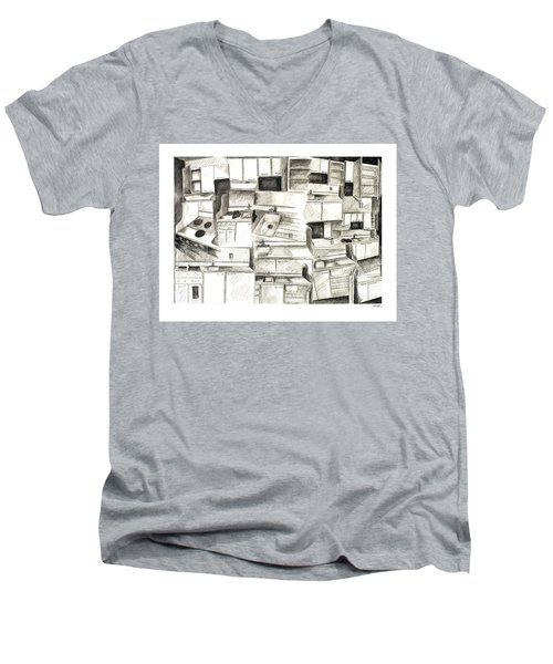 The Sink Exploded Men's V-Neck T-Shirt