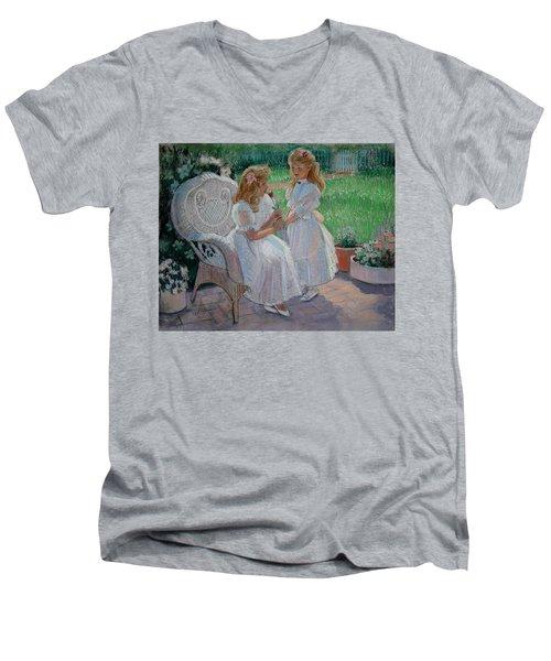 The Sister's Garden Men's V-Neck T-Shirt