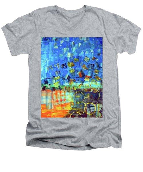 The Sky Fell Men's V-Neck T-Shirt