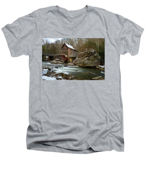 The Splendor Of West Virginia Men's V-Neck T-Shirt