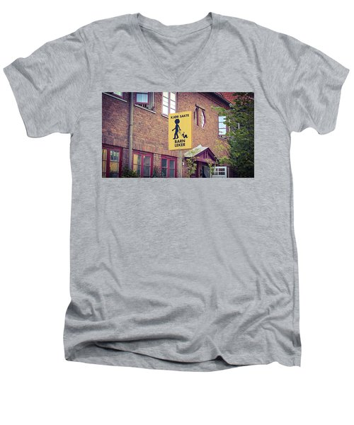 The Snail Kid Men's V-Neck T-Shirt