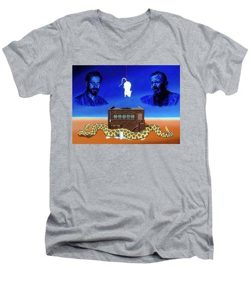 The Snake Men's V-Neck T-Shirt