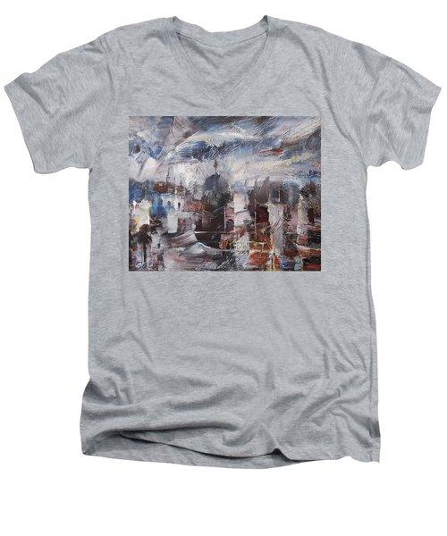 The Somnolent City Vi Men's V-Neck T-Shirt