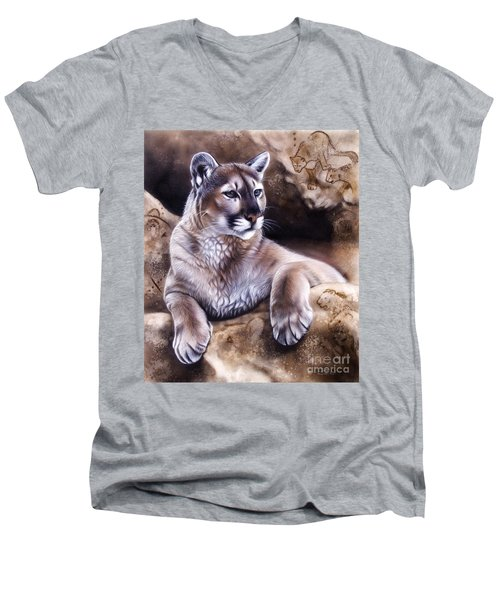 The Source Iv Men's V-Neck T-Shirt
