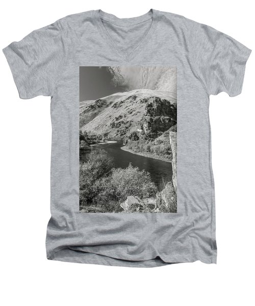 South Fork Boise River 3 Men's V-Neck T-Shirt