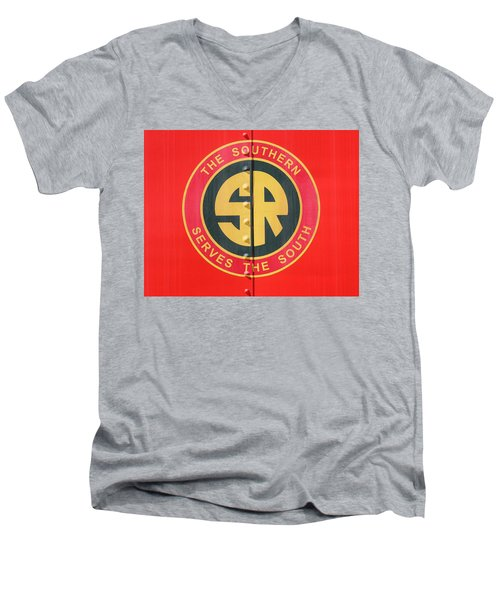 The Southern Serves The South 10 Men's V-Neck T-Shirt