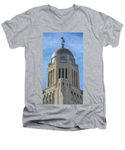 The Sower Men's V-Neck T-Shirt