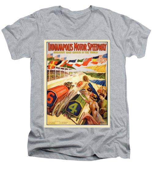 The Speedway Men's V-Neck T-Shirt