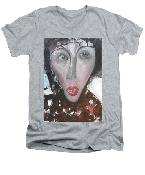The Spinster Men's V-Neck T-Shirt