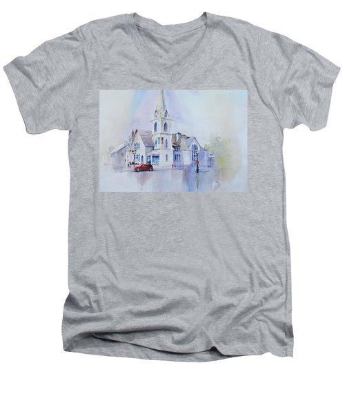 The Spire Center Men's V-Neck T-Shirt