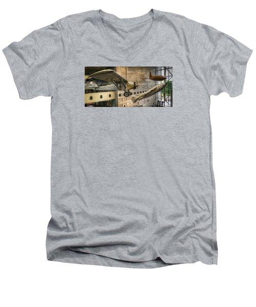 The Spirit Of Flight Men's V-Neck T-Shirt