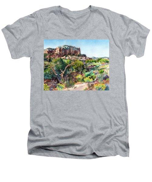 The Spirit Of Ghost Ranch Men's V-Neck T-Shirt