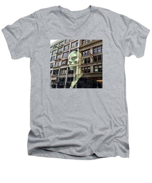 The Spirit Of San Francisco Men's V-Neck T-Shirt