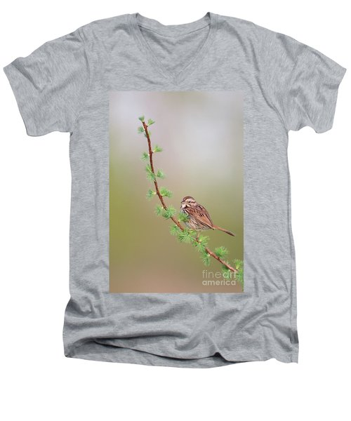The Spring. Men's V-Neck T-Shirt