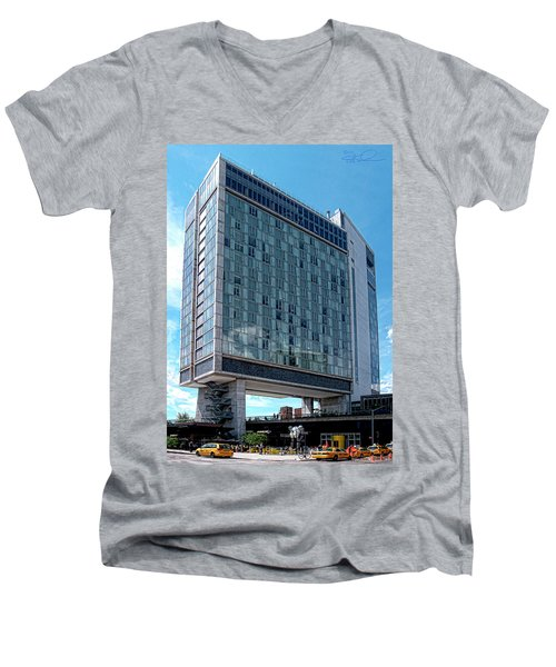 The Standard Hotel Men's V-Neck T-Shirt