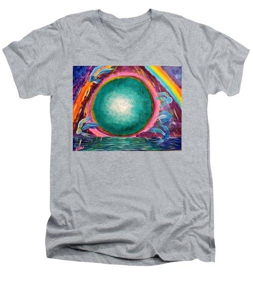 The Stargate Men's V-Neck T-Shirt