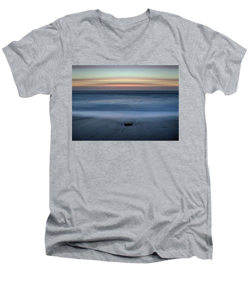 The Stone And The Sea Men's V-Neck T-Shirt