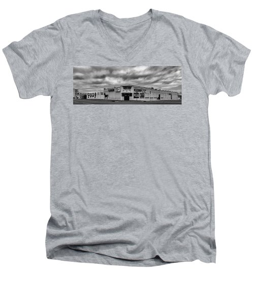 The Stone Pony Asbury Park New Jersey Black And White Men's V-Neck T-Shirt