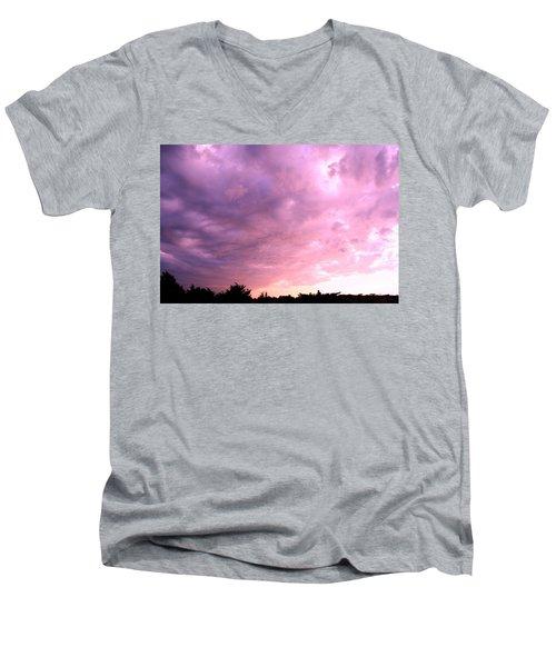 The Storm Is Over Men's V-Neck T-Shirt