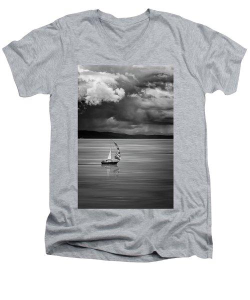 The Strait Of Georgia Men's V-Neck T-Shirt
