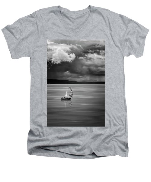 The Strait Of Georgia Men's V-Neck T-Shirt