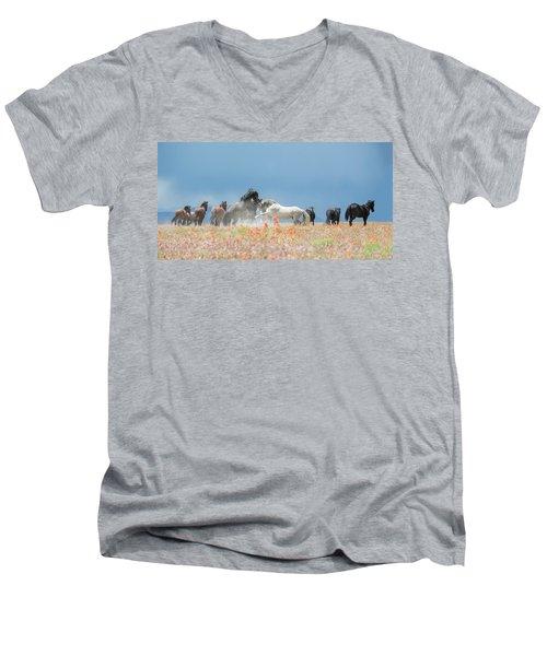 The Strike Men's V-Neck T-Shirt