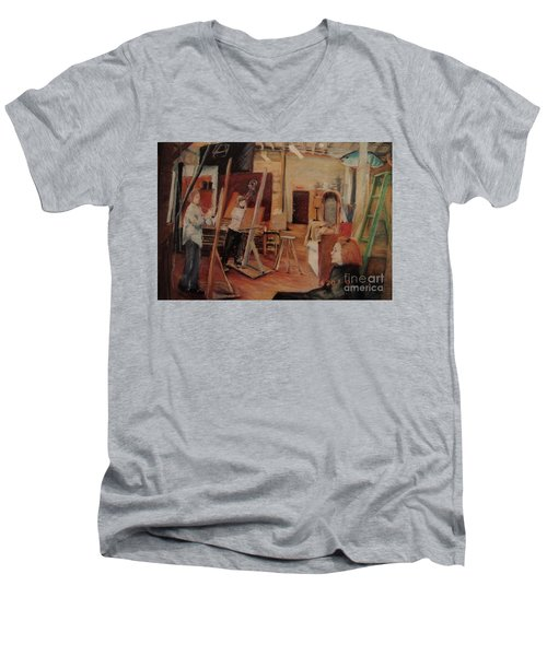 The Studio Men's V-Neck T-Shirt