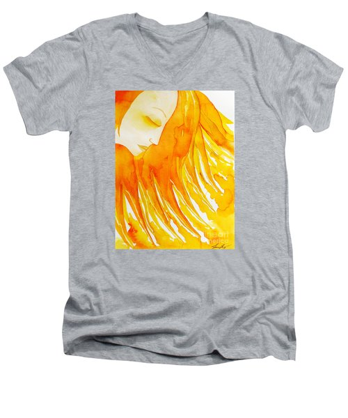 The Sun Goddess Men's V-Neck T-Shirt