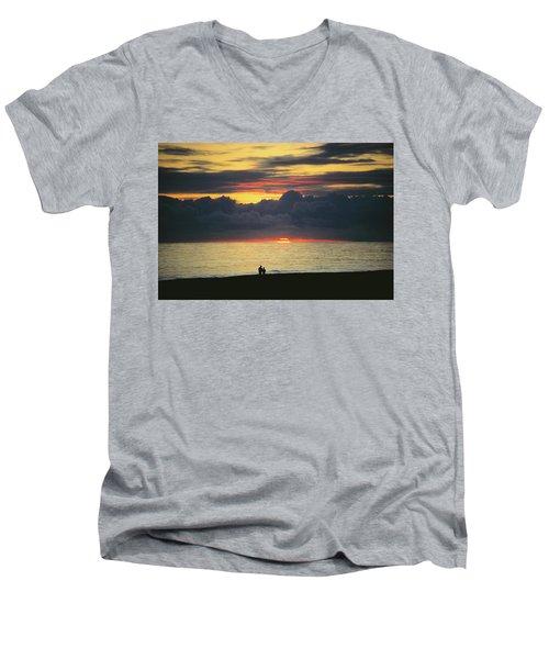 The Sundowners Men's V-Neck T-Shirt