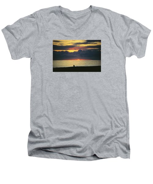 The Sundowners Men's V-Neck T-Shirt