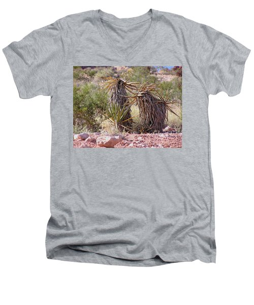 The Survivors At Red Rock Men's V-Neck T-Shirt