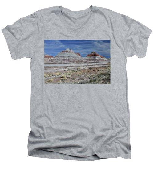 the TeePees Men's V-Neck T-Shirt