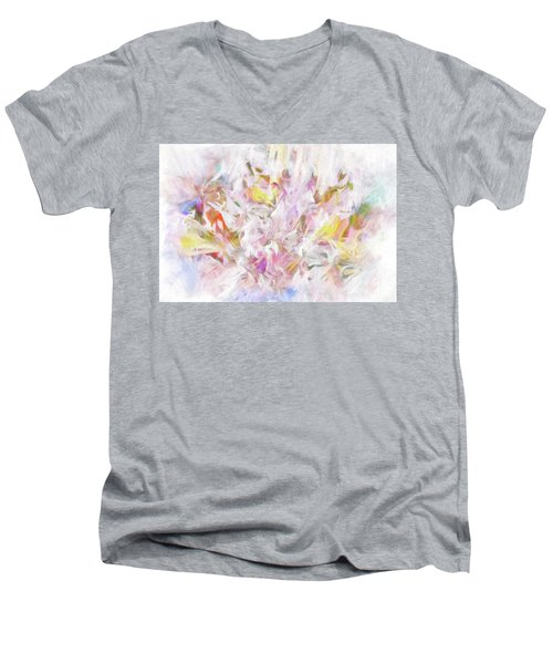 The Tender Compassions Of God Men's V-Neck T-Shirt by Margie Chapman