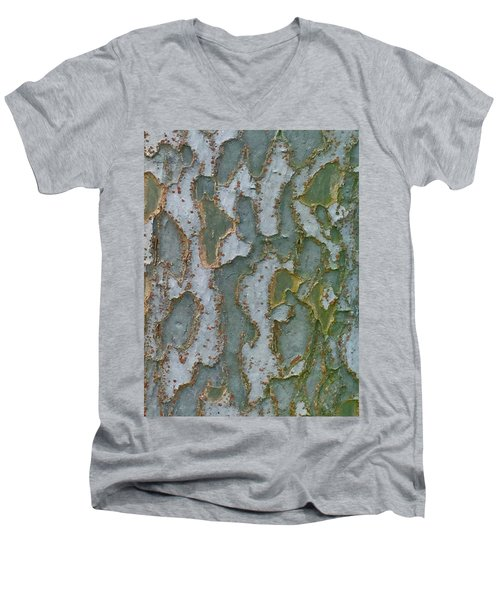The Texture Is In The Trees3 Men's V-Neck T-Shirt