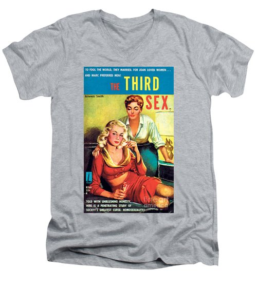 The Third Sex Men's V-Neck T-Shirt by Robert Stanley