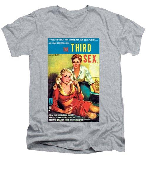 The Third Sex Men's V-Neck T-Shirt