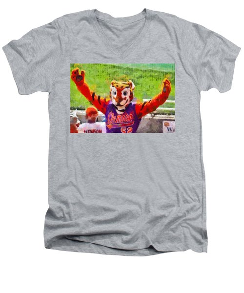 The Tiger Men's V-Neck T-Shirt