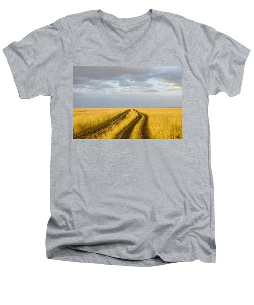 The Trail Men's V-Neck T-Shirt