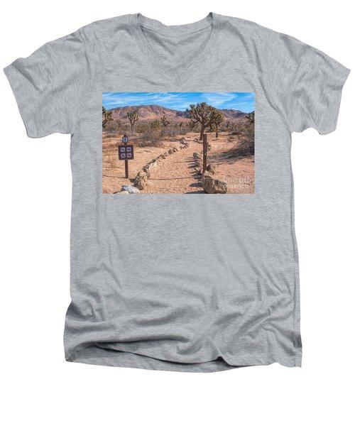 The Trailhead Men's V-Neck T-Shirt