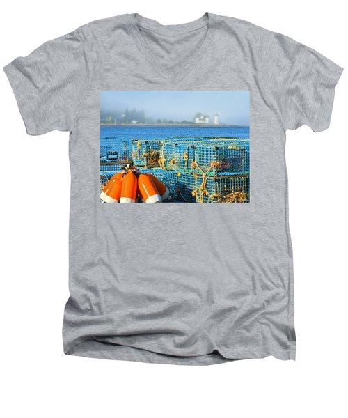 The Traps Men's V-Neck T-Shirt