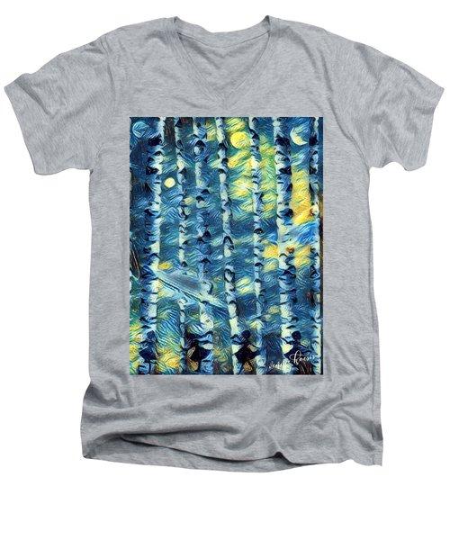 The Tree Children Men's V-Neck T-Shirt