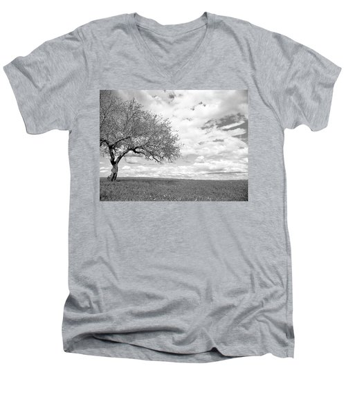 The Tree On The Hill Men's V-Neck T-Shirt